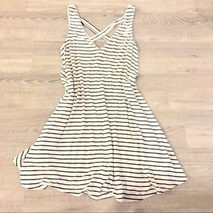 Sz: S American Eagle Soft & Sexy striped dress